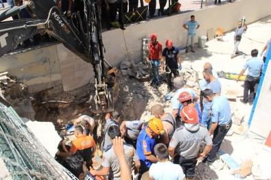 Tavan çöktü: 1 işçi göçük altında