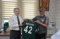 SELÇUK ÜNIVERSITESI - Rektör Şahin'den, Atiker Konyaspor'a Tebrik Ziyareti