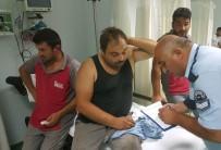 İNŞAAT İŞÇİLERİ - İnşaat işçilerinin kavgasında 4 kişi hastanelik oldu