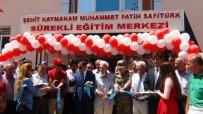 EMEKLİ ÖĞRETMEN - Şehit Kaymakam Safitürk'ün Adı Verildi