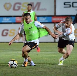 Galatasaray'da Selçuk İnan idmana çıkmadı