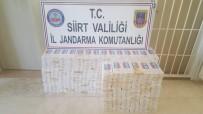 Siirt'te 3 Bin 998 Paket Kaçak Sigara Ele Geçirildi