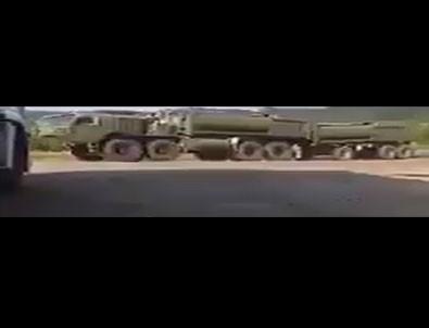 Türk TIR şoförü çekti! ABD o ülkelere silah yığıyor