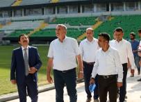 Vali Balkanlıoğlu Ve Başkan Toçoğlu Yeni Stadı İnceledi
