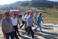 Vali Çeber, Keltepe 'De İncelemelerde Bulundu