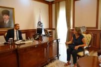 ASLANTEPE - Vali Kaban, İtalyan Kazı Ekibini Ağırladı