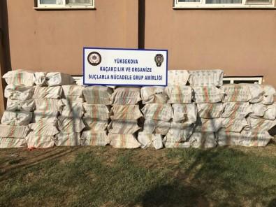 23 bin 500 paket kaçak sigara ele geçirildi
