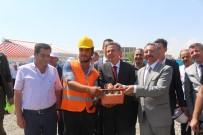 SÜLEYMAN ELBAN - Ağrı'da Temel Atma Töreni Yapıldı