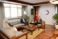 HARUN KARACAN - AK Parti'li Karacan, Türk Kızılayı'nı Ziyaret Etti
