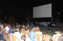 TÜRKAN ŞORAY - Alaşehirliler Açık Hava Sinemasına Büyük İlgi Gösterdi