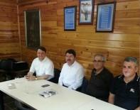 YILMAZ TUNÇ - Bartın Şehit Aileleri Ve Gaziler Derneğinden Milletvekili Tunç'a Fahri Üyelik