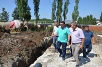 Başkan Bakıcı, İçköy Mevkii'nde Başlatılan Alt Yapı Çalışmalarını İnceledi