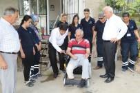 EĞERCI - Başkan Görmez'den Duygulandıran Ziyaret