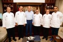 İÇLİ KÖFTE - Başkan Sözlü, Adanalı Aşçılara Güç Verdi