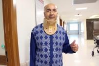 AMBULANS ŞOFÖRÜ - Boynu Kırılan Ambulans Şoförü Sakat Kalmaktan Kurtarıldı