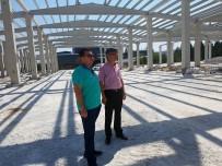Bozüyük Belediye Başkanı Fatih Bakıcı Kapalı Pazar İnşaatında