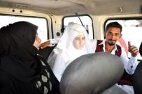 SÜLEYMAN ŞAH - Çadırkentin Suriyeli Gelini Makam Aracıyla Uğurlandı