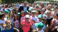 TAŞDELEN - Çankaya Yaz Spor Okulları, Bin 200 Çocuğa Spor Eğitimi Verdi