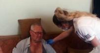 BEYİN KANAMASI - Cuma Namazında Fenalık Geçiren Şahıs, Hastaneye Kaldırıldı