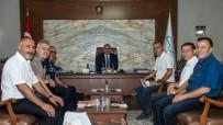 HAKEM KURULU - Dernek Yöneticilerinden Vali Zorluoğlu'na Ziyaret