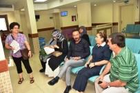 SAĞLIK TURİZMİ - Doktor Başkandan Hastane Ziyareti