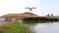 EDREMIT BELEDIYESI - Edremit'te Drone İle İlaçlama Çalışması
