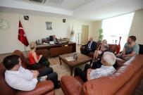 YENİMAHALLE BELEDİYESİ - Egem Platformu'na Bağlı Dernek Başkanları Yenimahalle'de