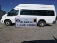 GÖÇMEN KAÇAKÇILIĞI - Erzurum'da Yabancı Uyruklu 18 Göçmen Yakalandı