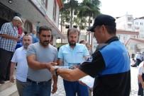 SİLAHA HAYIR - Fatsa'da Silaha Hayır Broşürü Dağıtıldı