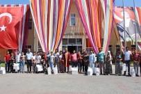 TOPLU NİKAH TÖRENİ - Hayrabolu 27. Ayçiçeği Festivali'nde 10 Çifte Nikah Kıyıldı