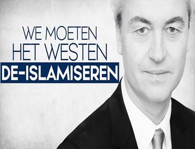 Hollandalı faşist liderden skandal paylaşım