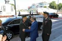 ZEKI ÇOLAK - Kara Kuvvetleri Komutanı Orgeneral Çolak'tan Vali Kaban'a Veda Ziyareti