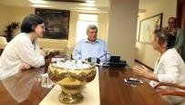 EROZYONLA MÜCADELE - Karaosmanoğlu, TEMA Vakfı Genel Başkanını Ağırladı