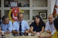 TÜRKIYE GAZETECILER FEDERASYONU - Kazak Gazeteci Ve Televizyoncular Eskişehir'de
