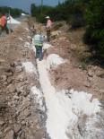 TURGUTALP - Kozanlı'ya Beş Günde Terfi Hattı Döşendi