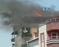 KANARYA MAHALLESİ - Küçükçekmece'de Korkutan Yangın