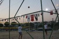 AKARÇAY - Kum Voleybolu Turnuvası Başladı