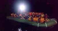 KAÇAK GÖÇMEN - Kuşadası Körfezi'nde 56 Kaçak Göçmen Yakalandı