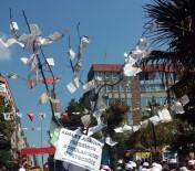 EROL ÖZDEMIR - Maaşını Alamayan İşçilerden Ağaçlı Eylem