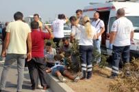 MEHMET AK - Manavgat'ta Trafik Kazası Açıklaması 3 Yaralı