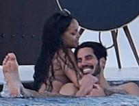 RIHANNA - Rihanna'nın sevgilisi evli çıktı!