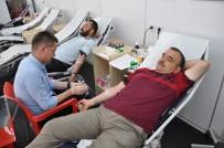 KAN BAĞıŞı - Simav'da Madalyalı Kan Bağışı