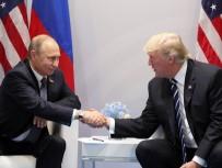 RUSYA DEVLET BAŞKANı - Trump, Putin'e Teşekkür Etti