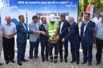 ULUDAĞ ÜNIVERSITESI REKTÖRÜ - Üniversite Camii'nin Temeli Atıldı