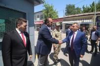 Vali Elban Tutak İlçesini Ziyaret Etti