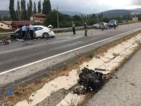 Amasya'da 2 Otomobil Çarpıştı Açıklaması 1 Ölü, 3 Yaralı