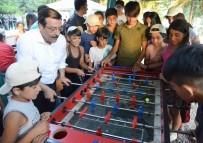 GEZIN - Başkan Atilla, Çocuk Yaz Kampı'nda Çocuklarla Buluştu