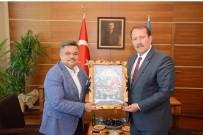 Başkan Yağcı, Karacan'la Bir Araya Geldi