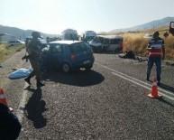 Batman'da Trafik Kazası Açıklaması 1 Ölü, 10 Yaralı