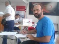 KıZıLAY - Bursalı Dağcılardan Kan Bağışına Destek